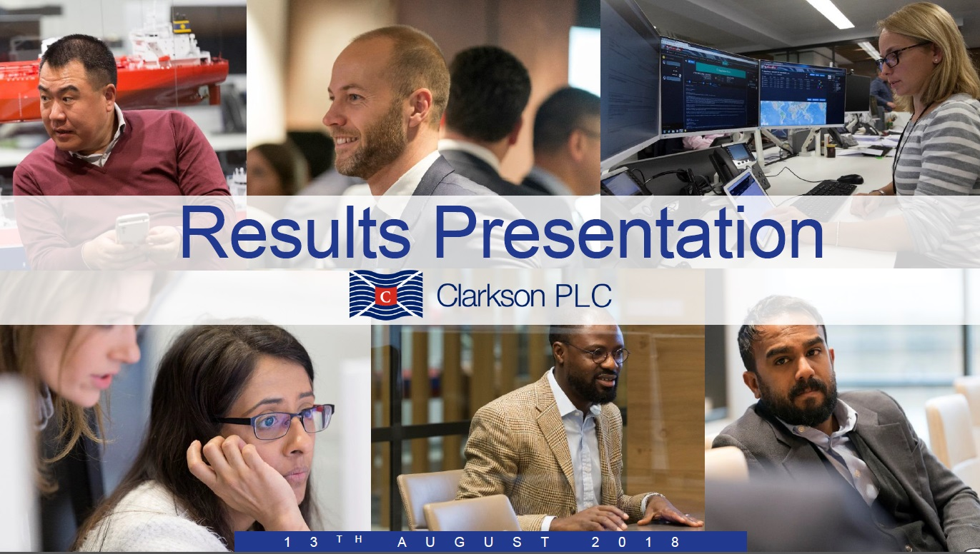 Interim results presentation 2018