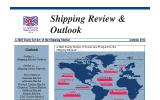Dry Cargo Shipping Review and Outlook